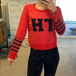 Tommy Hilfiger cropped crew neck